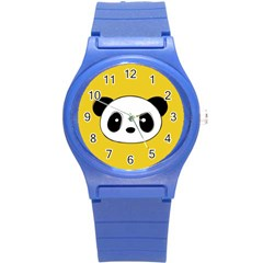 Face Panda Cute Round Plastic Sport Watch (s) by Jojostore