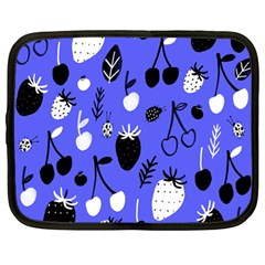 Fruit Strobery Leci Purple Netbook Case (large) by Jojostore