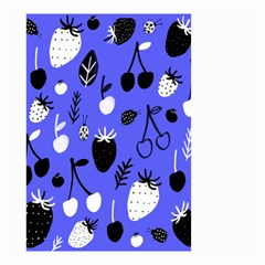Fruit Strobery Leci Purple Small Garden Flag (two Sides) by Jojostore