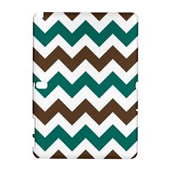 Green Chevron Galaxy Note 1 by Jojostore