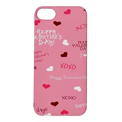 Happy Valentines Day Apple Iphone 5s/ Se Hardshell Case