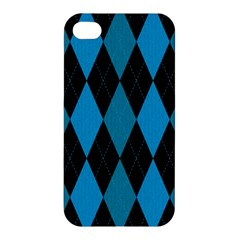 Fabric Background Apple Iphone 4/4s Premium Hardshell Case