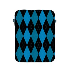Fabric Background Apple Ipad 2/3/4 Protective Soft Cases