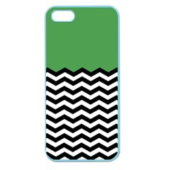 Lime Green Chevron Apple Seamless Iphone 5 Case (color) by Jojostore