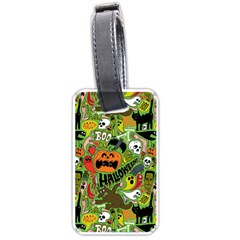 Halloween Pattern Luggage Tags (two Sides) by Jojostore
