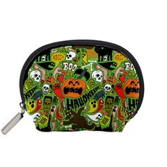 Halloween Pattern Accessory Pouches (small)  by Jojostore