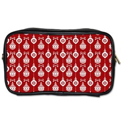 Light Red Lampion Toiletries Bags by Jojostore