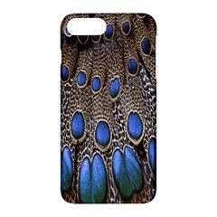 Feathers Peacock Light Apple Iphone 7 Plus Hardshell Case by Jojostore