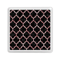 Tile1 Black Marble & Red & White Marble Memory Card Reader (square) by trendistuff