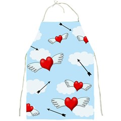 Love Hunting Full Print Aprons by Valentinaart