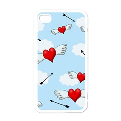 Love Hunting Apple Iphone 4 Case (white) by Valentinaart