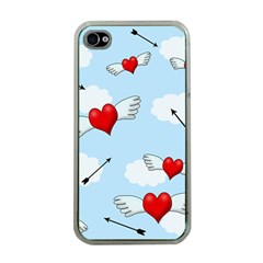Love Hunting Apple Iphone 4 Case (clear) by Valentinaart