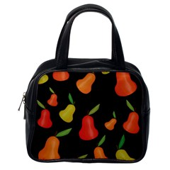 Pears Pattern Classic Handbags (one Side) by Valentinaart