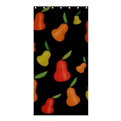 Pears Pattern Shower Curtain 36  X 72  (stall)  by Valentinaart