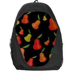 Pears Pattern Backpack Bag by Valentinaart