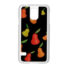Pears Pattern Samsung Galaxy S5 Case (white) by Valentinaart