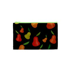 Pears Pattern Cosmetic Bag (xs) by Valentinaart