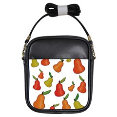 Decorative Pears Pattern Girls Sling Bags