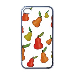 Decorative Pears Pattern Apple Iphone 4 Case (black) by Valentinaart