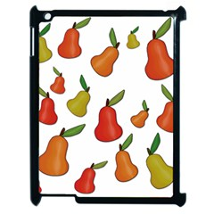 Decorative Pears Pattern Apple Ipad 2 Case (black) by Valentinaart