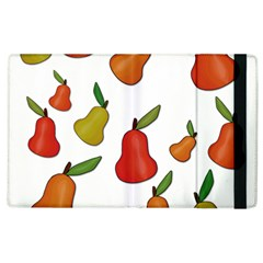 Decorative Pears Pattern Apple Ipad 2 Flip Case by Valentinaart