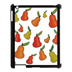 Decorative Pears Pattern Apple Ipad 3/4 Case (black) by Valentinaart