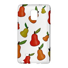 Decorative Pears Pattern Galaxy Note Edge by Valentinaart