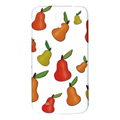 Decorative Pears Pattern Samsung Galaxy Mega I9200 Hardshell Back Case by Valentinaart