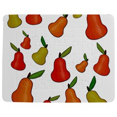 Decorative Pears Pattern Jigsaw Puzzle Photo Stand (rectangular) by Valentinaart