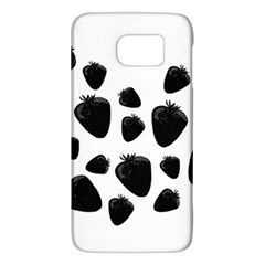 Black Strowberries Galaxy S6 by Valentinaart