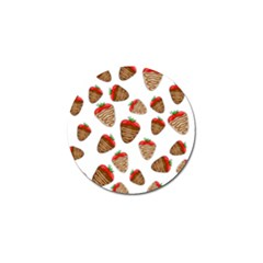Chocolate Strawberries  Golf Ball Marker (10 Pack) by Valentinaart