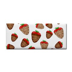 Chocolate Strawberries  Cosmetic Storage Cases by Valentinaart