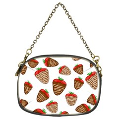 Chocolate Strawberries  Chain Purses (two Sides)  by Valentinaart