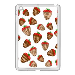 Chocolate Strawberries  Apple Ipad Mini Case (white) by Valentinaart