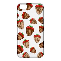 Chocolate Strawberries  Apple Iphone 5c Hardshell Case by Valentinaart