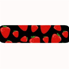 Strawberries Pattern Large Bar Mats by Valentinaart