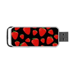 Strawberries Pattern Portable Usb Flash (two Sides)