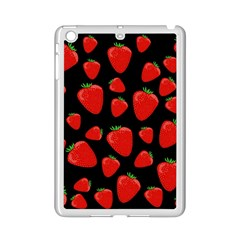 Strawberries Pattern Ipad Mini 2 Enamel Coated Cases by Valentinaart