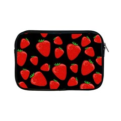 Strawberries Pattern Apple Ipad Mini Zipper Cases by Valentinaart