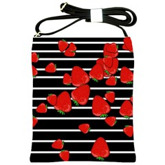 Strawberries  Shoulder Sling Bags
