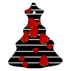 Strawberries  Ornament (christmas Tree)