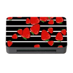 Strawberries  Memory Card Reader With Cf by Valentinaart