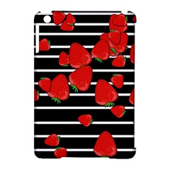 Strawberries  Apple Ipad Mini Hardshell Case (compatible With Smart Cover) by Valentinaart