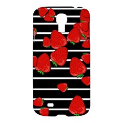 Strawberries  Samsung Galaxy S4 I9500/i9505 Hardshell Case by Valentinaart