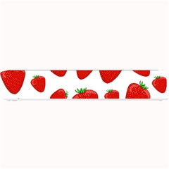 Decorative Strawberries Pattern Small Bar Mats by Valentinaart