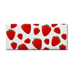 Decorative Strawberries Pattern Cosmetic Storage Cases by Valentinaart