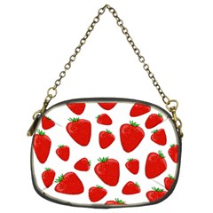 Decorative Strawberries Pattern Chain Purses (two Sides)  by Valentinaart