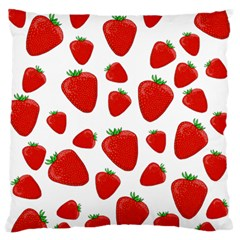 Decorative Strawberries Pattern Standard Flano Cushion Case (one Side) by Valentinaart