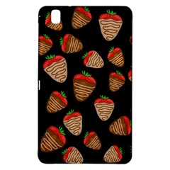 Chocolate Strawberries Pattern Samsung Galaxy Tab Pro 8 4 Hardshell Case by Valentinaart
