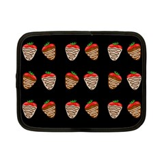 Chocolate Strawberies Netbook Case (small)  by Valentinaart